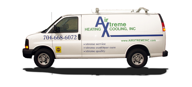 Air Xtreme Heating and Cooling Service Van